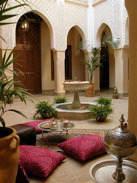 moroccan style house  outdoor spaces homemydesign