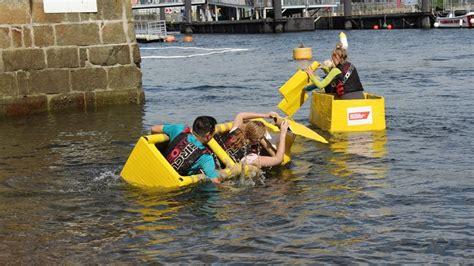 plymouth cardboard boat race makes a splash - Cardboard Boat Race Plymouth