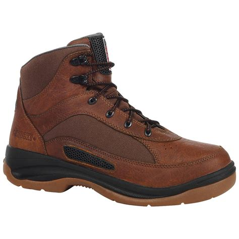rocky shoes rocky 174 ergotuff cool 6 quot work boots brown 578320 work