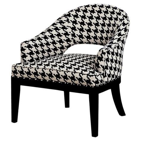 Houndstooth Chair by Houndstooth Arm Chair