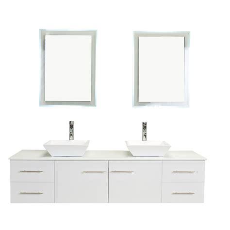 white 72 sink bathroom vanity totti wave 72 inch white modern sink bathroom