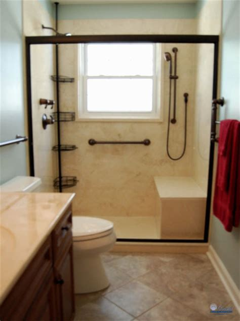 Handicap Bathroom Design by Americans With Disabilities Act Ada Coastal Bath And