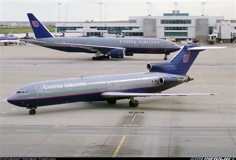 united airlines to add denver flights as part of expansion plan boeing 727 222 adv united airlines aviation photo