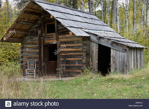 Restored Log Cabins by Restored Log Cabin Ghost Town Of Quesnel Forks