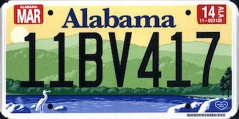 Alabama Vanity Plates by License Plates 15 11 By Troggles