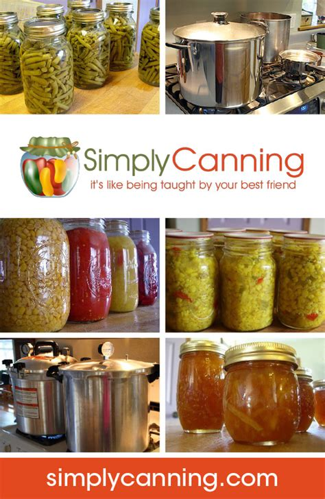 complete list of home canning recipes