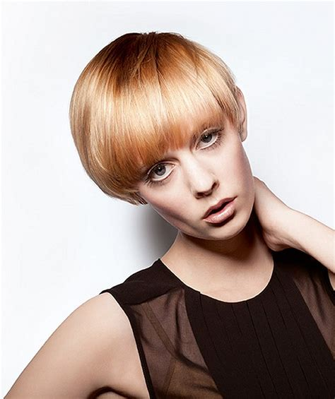 wella hairstyles a short blonde hairstyle from the color id collection by