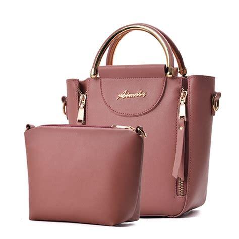 1932 Pink Tas Selempang Import jual b6861 pink tas selempang set 2in1 grosirimpor