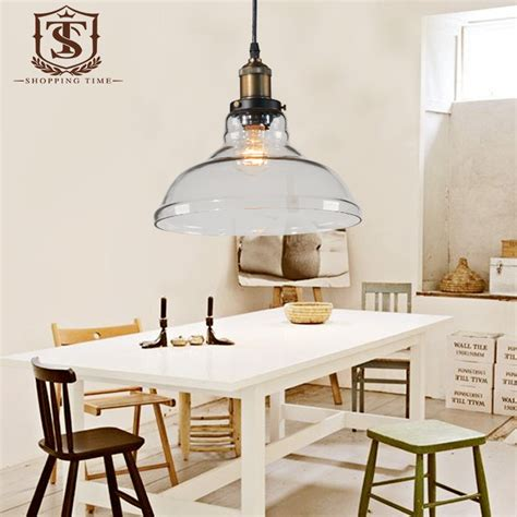 pendant lights for dining room crystal glass lshade pendant light modern dining room