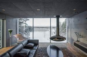 Scandinavian Homes Interiors concrete house architecture