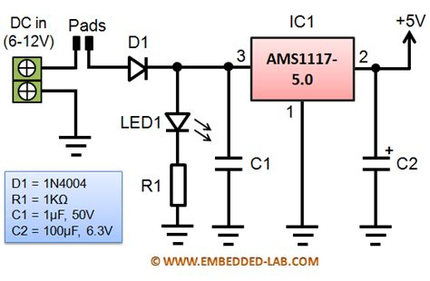Ams1117 5 0v Regulator ams1117 5 0 ams1117 5 0v ams1117 1117 5v 1a voltage