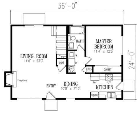Colonial Style House Plan 3 Beds 2 00 Baths 1350 Sq Ft 1350 Sq Ft House Plan