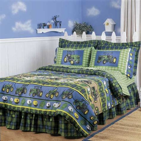 john deere comforter sheet set