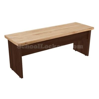 wide benches 24 quot wide laminate bench with wood top schoollockers com