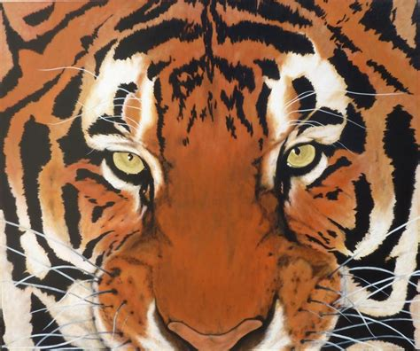 tiger paint how to paint lessons abstract