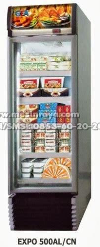 Freezer Untuk Makanan Beku penataan indah untuk tempat usaha minimalis mesin raya
