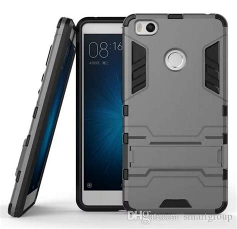 Xiaomi Mi4s Mi 4s Leather Armor Bumper Cover Dompet Flip Stand for xiaomi mi 4s rugged combo hybrid armor bracket impact holster protective cover for
