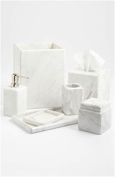 waterworks studio luna white marble covered jar online
