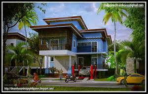 beautiful Bungalow House Plans Indian Style #5: Philippine+Flood-free+Elevated+House+Design+(3).jpg