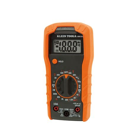 digital multimeter manual ranging 600v mm300 klein