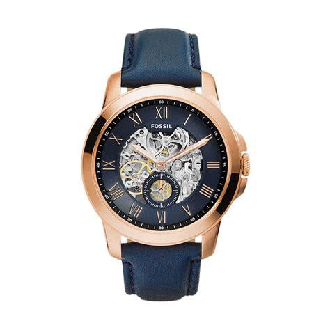 Jam Rolex Crown Skeleton Automatic Rosegold Combi jual fossil me3054 jam tangan pria harga kualitas terjamin blibli
