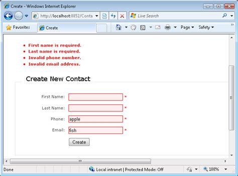 pattern validation phone number iteration 3 add form validation vb the asp net site