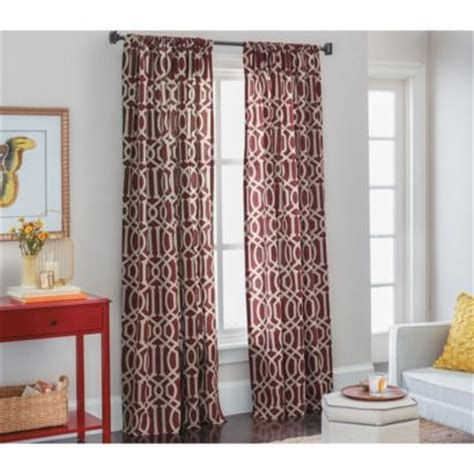 Living Room Curtains Target by Threshold Farrah Lattice Window Panel Den Curtains 19