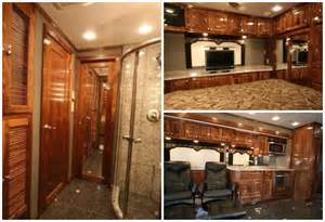 luxury motorhome interiors with original minimalist in