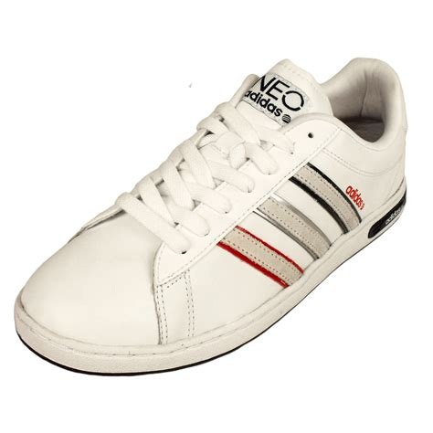 Adidas Ii adidas mens shoes derby ii neo label trainers white leather trainer retro new ebay
