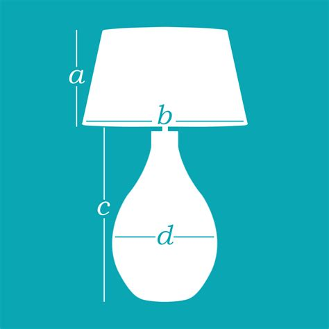 What Size Lamp Shade by How To Measure A Lampshade Oka
