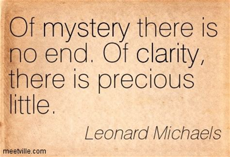 the sense of mystery clarity and obscurity in the intellectual books 332 quotes sayings images about clarity confusion page 18