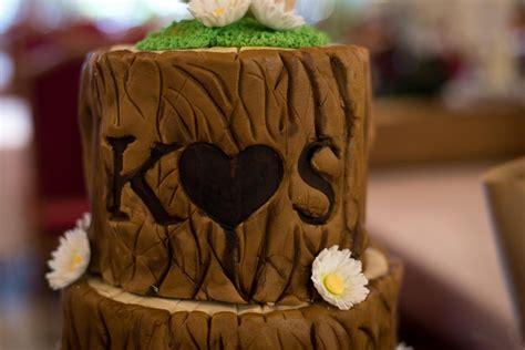 Hochzeitstorte Holz by Eine Ganz Besondere Hochzeitstorte In Holzoptik