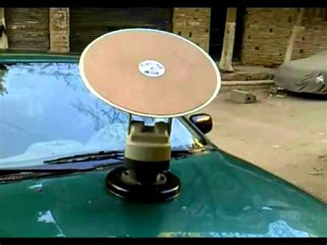 tracking mobile satellite antenna for cars caravans etc by farragsat