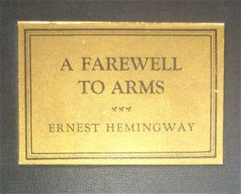 Pertempuran Penghabisan A Farewell To Arms Ernest Hemingway ernest hemingway a farewell to arms 1929 catawiki