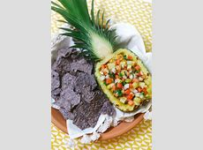 DIY Pineapple Boat - Evite How To Cut A Pineapple Boat