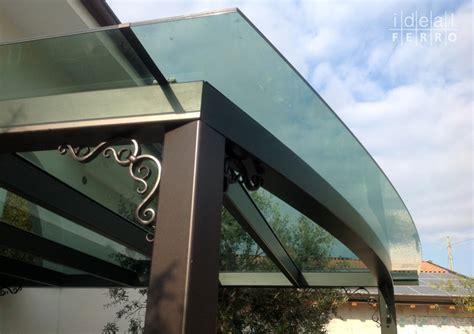 coperture terrazzi in vetro pergola a vela con copertura in vetro idealferro