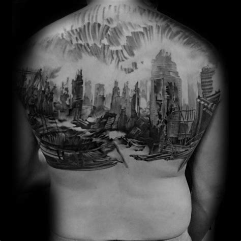 watercolor tattoos kansas city 70 city skyline designs for downtown ink ideas