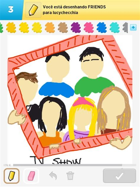 Drawing W Friends by Friends Drawings How To Draw Friends In Draw Something