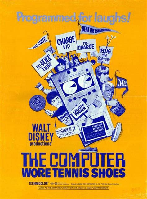 the computer wore tennis shoes 1995 poster 4