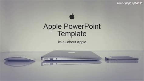 Apple Corporate Powerpoint Template As Envisioned By Our Free Cool Powerpoint Templates For Mac