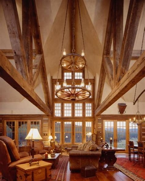 western homestead ranch living room rustic living room photos of western interiors