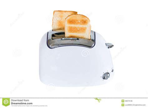 Toaster With Bread Toaster With Toasted Bread Royalty Free Stock Image
