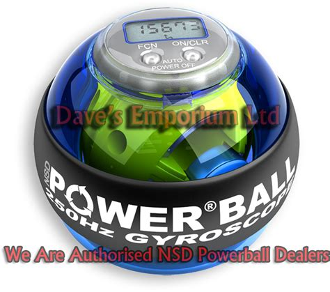 Power Bell nsd powerball 250hz blue pro screamer