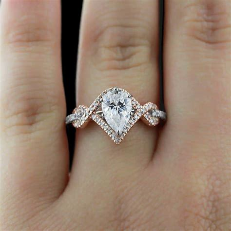 Cartier Teardrop Engagement Ring by Unique Wedding Rings Best Photos Wedding Ideas