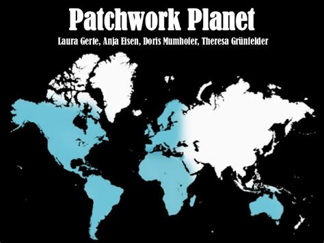 Patchwork Planet - patchwork planet mdh modedesign 1011 w2012