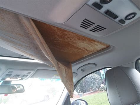 Car Roof Upholstery Coming by Sunroof Moonroof Cover Fabric Fell Apart Pelase Help