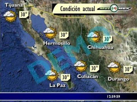 imagenes satelitales del clima pron 243 stico local para m 233 xico flash demo youtube