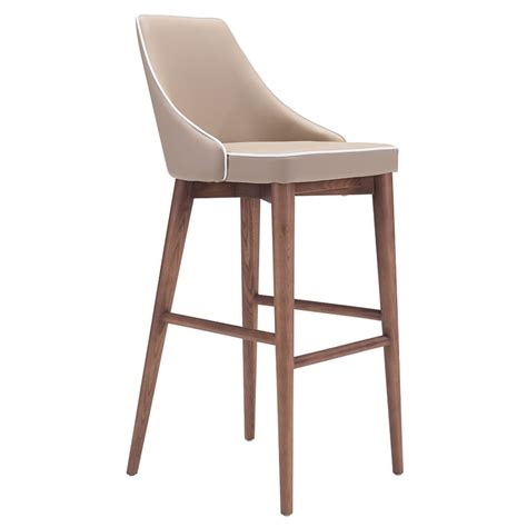 modern bar stools madock beige bar stool eurway