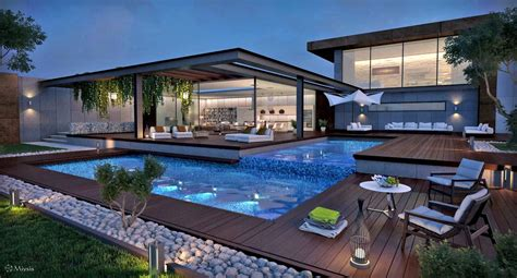 Outdoor Pool Lounge Chairs Design Ideas Ideas Modern Pools Ideas With Wooden Deck And Pool Lounge Chairs Plus Pool Lighting For Amazing