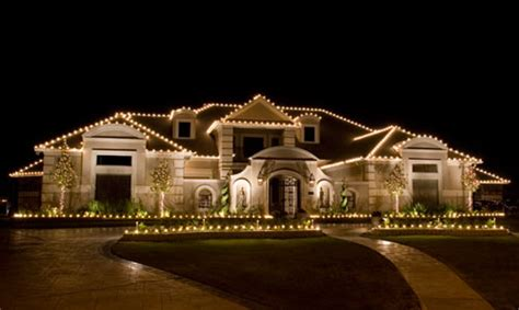 how to decorate lights on a house house decoration by the light